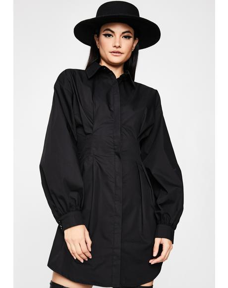 Modest Muse Shirt Dress