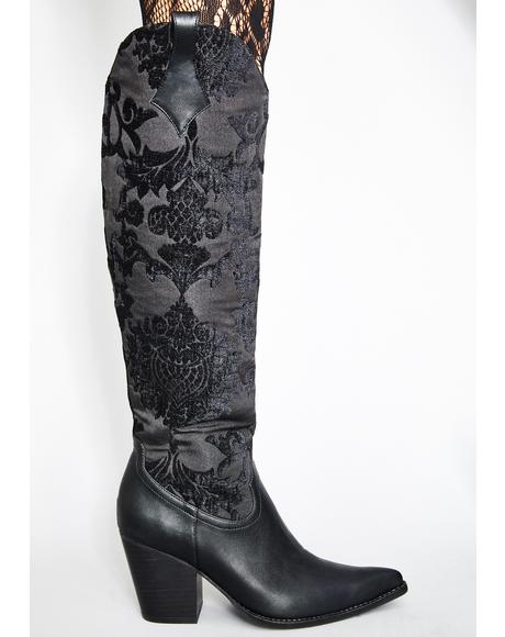 Supreme Ascension Brocade Boots