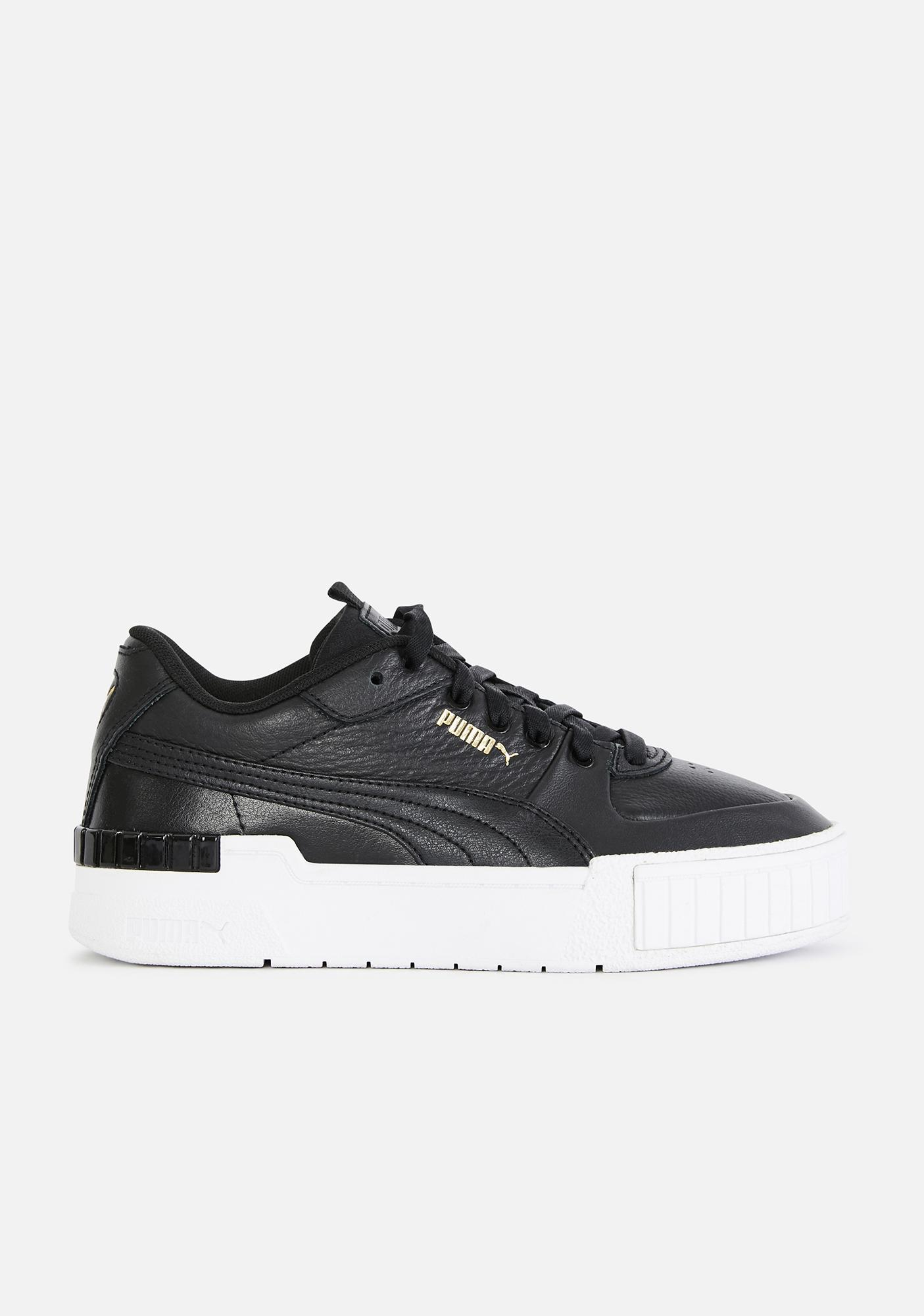 PUMA Black Cali Sport Sneakers