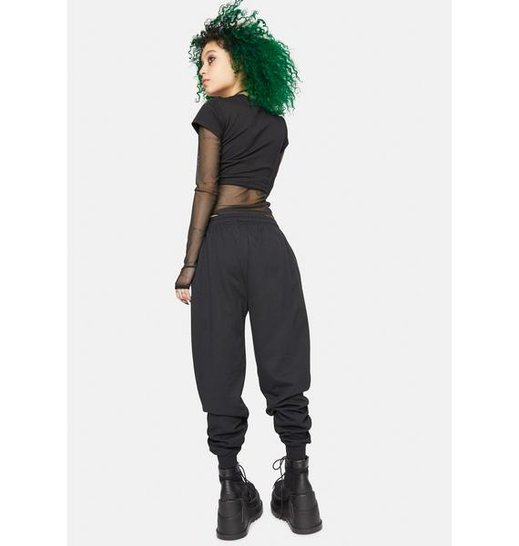 Long Clothing X Nympha Sinners Welcome Sweatpants