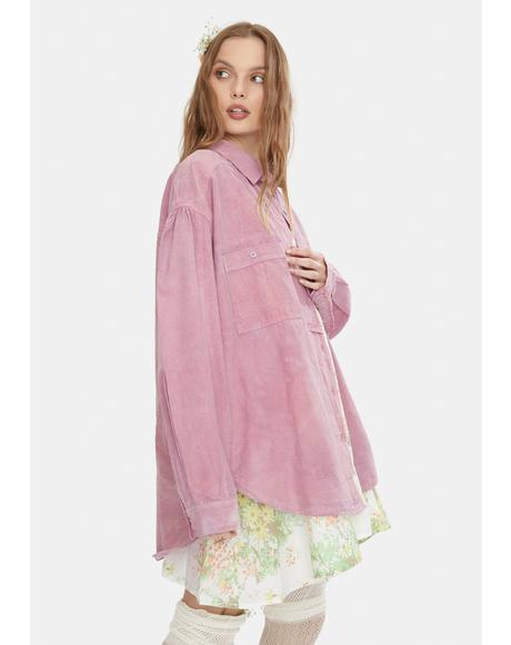 Cardiff Oversized Button Down