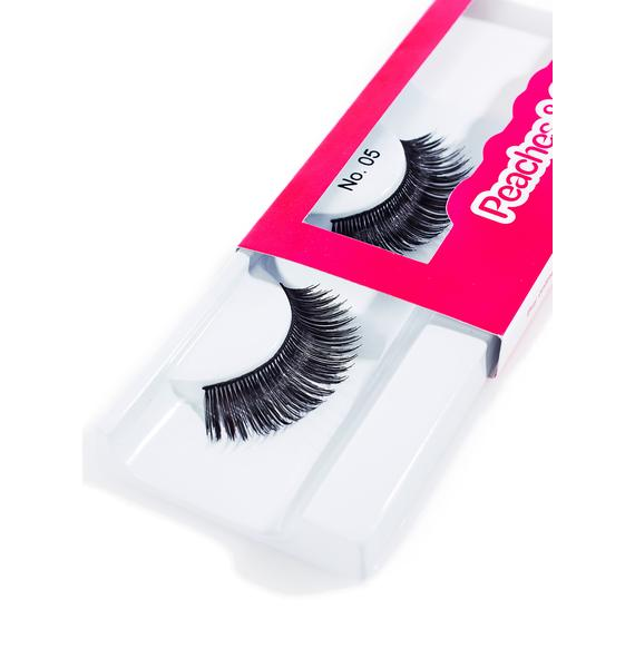 Peaches & Cream No. 5 False Lashes