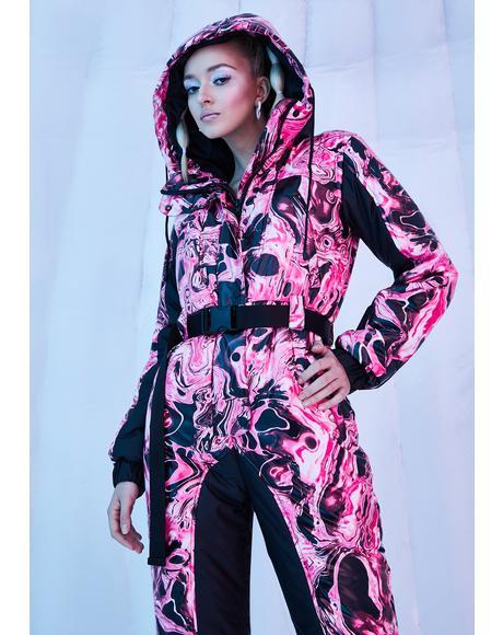 Lady Acid Dimension Puffer Snowsuit