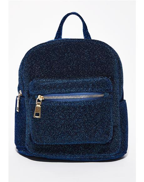 Indigo Glint N' Gleam Mini Backpack
