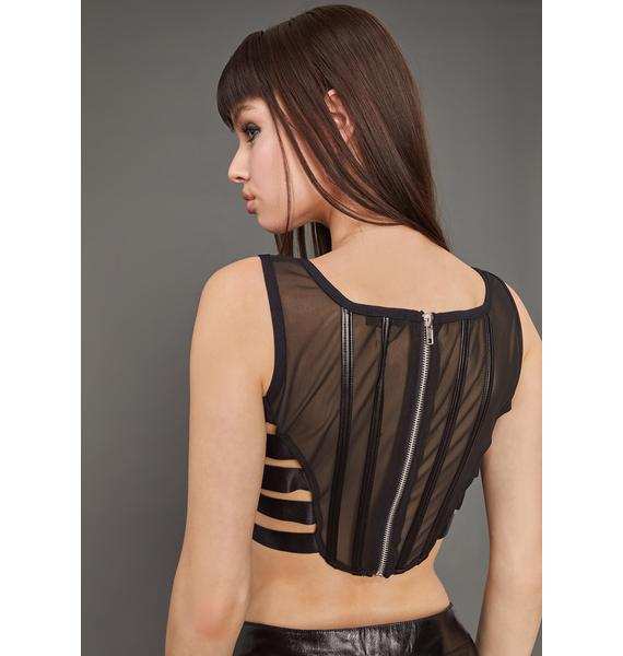 Poster Grl Your Eyes Only Corset Top