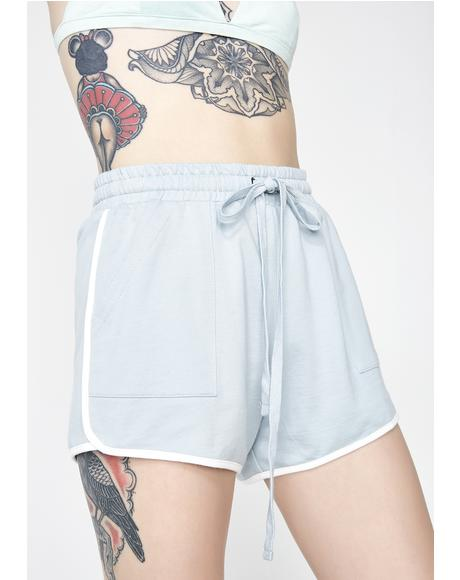 Play It Better Drawstring Shorts