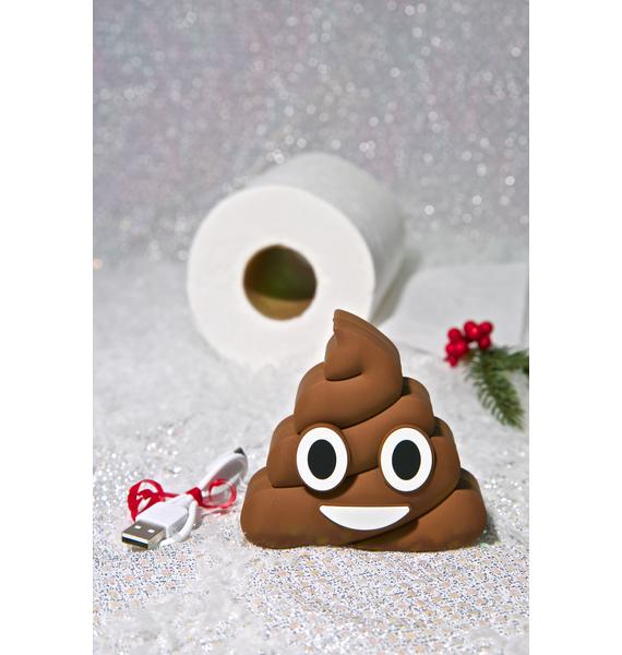 Wattzup Poop Emoji Power Bank