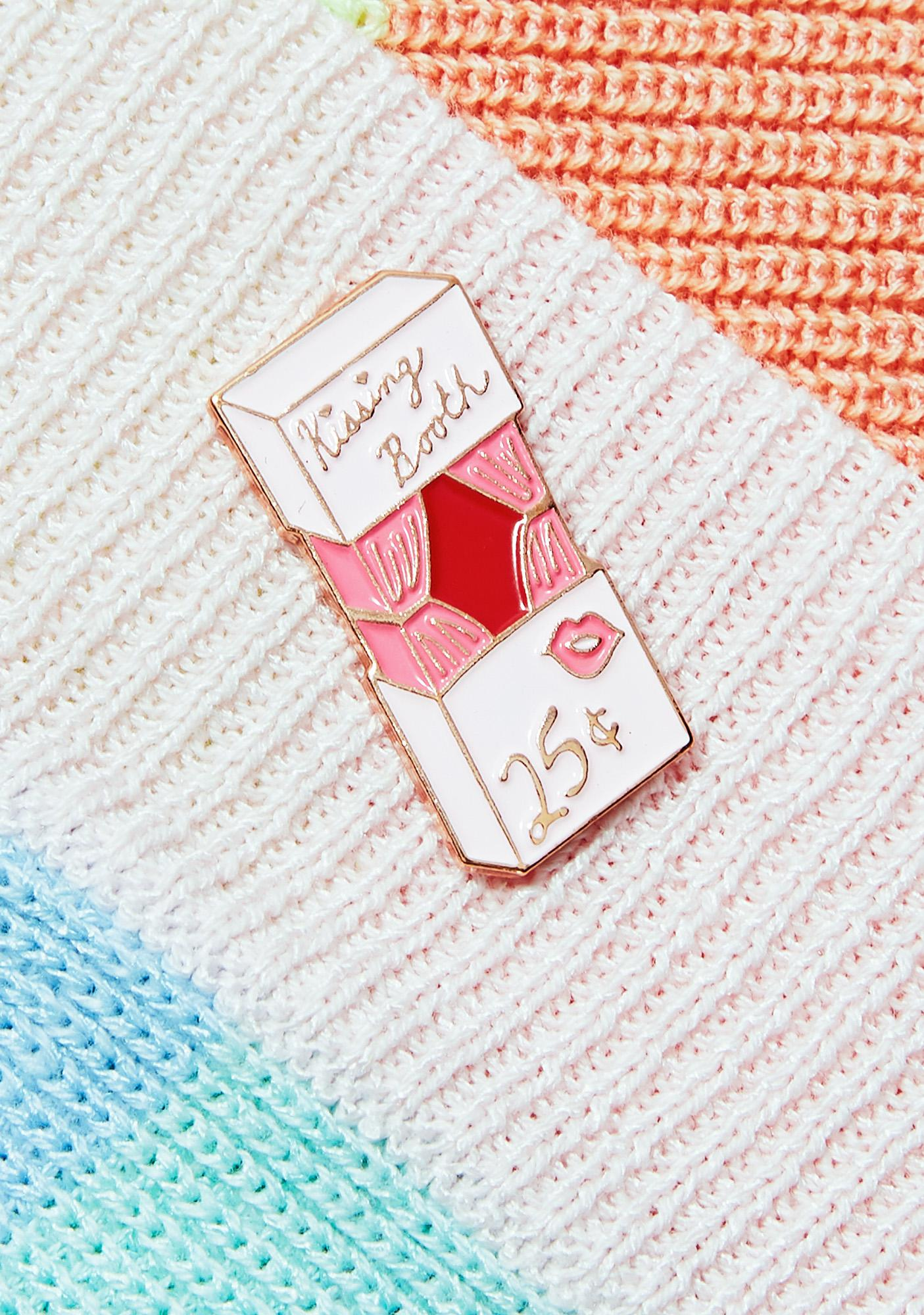 Rosehound Apparel Kissing Booth Lapel Pin
