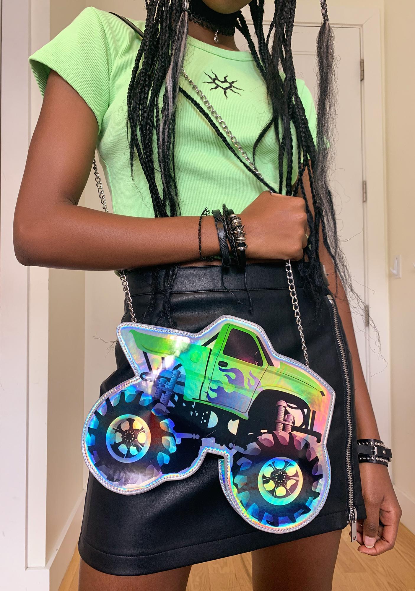 dELiA*s by Dolls Kill Hot Wheelz Crossbody Bag