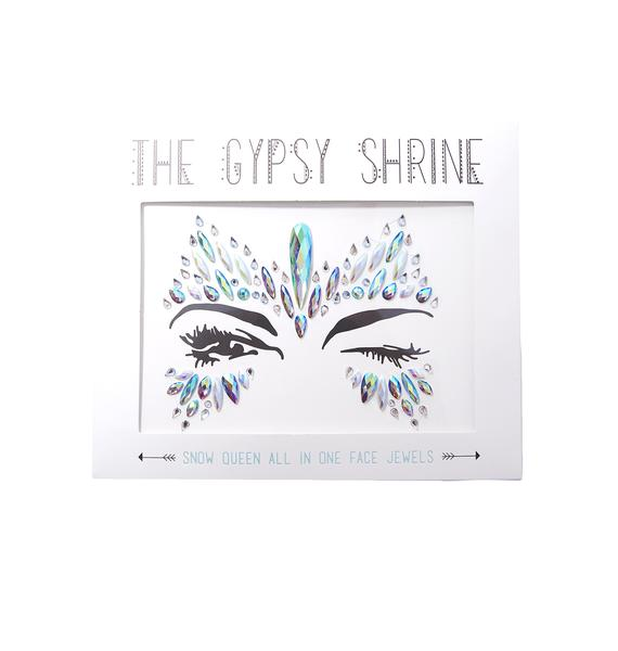 The Gypsy Shrine Snow Queen Face Jewels