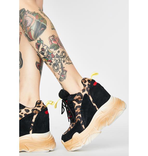 Anthony Wang Savage Taste Platform Sneakers