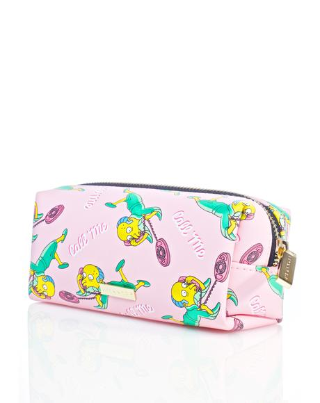 Mr. Burns Make Up Bag
