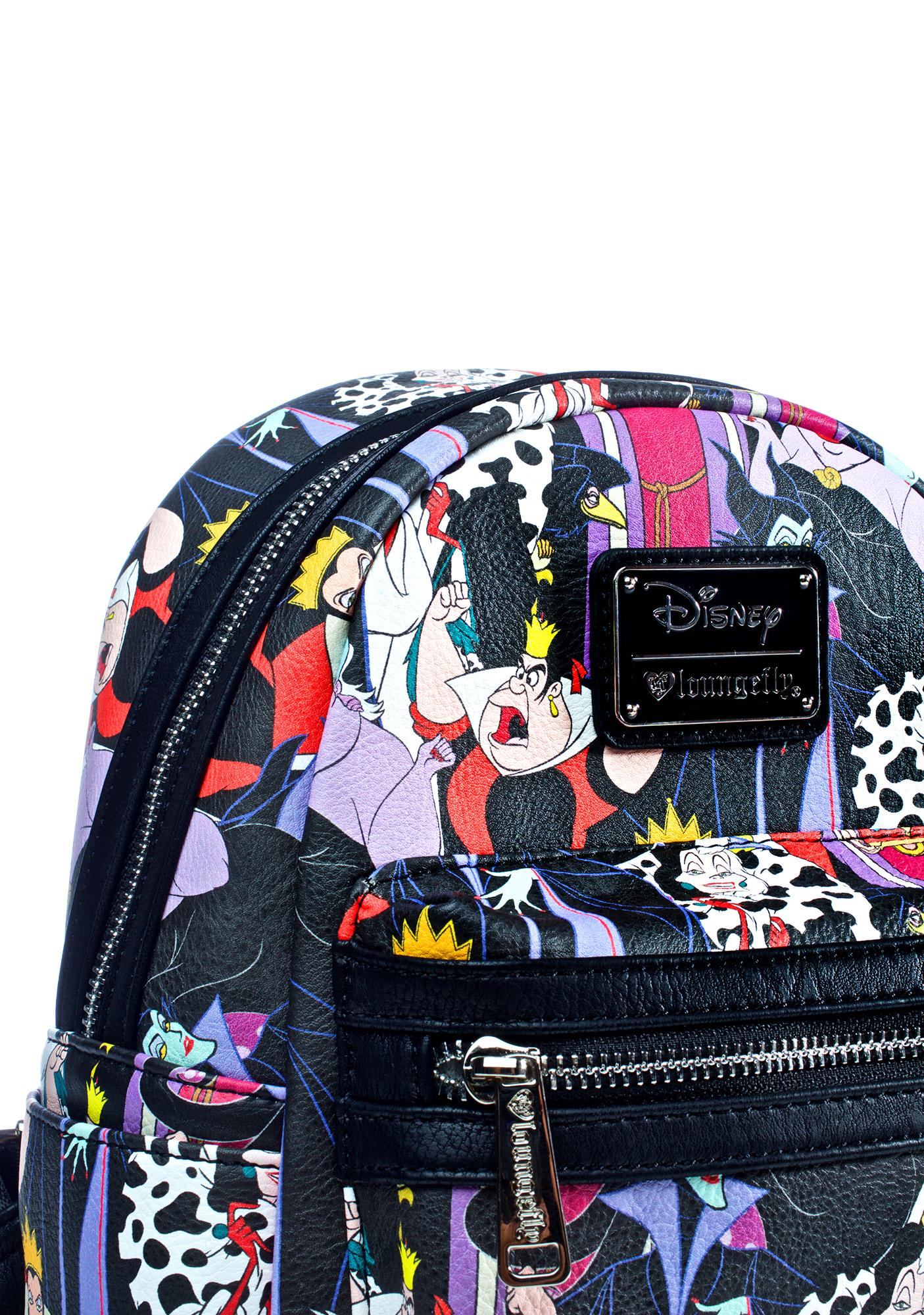 4e72bc5166b ... Loungefly X Disney Villains Evil Queens Backpack