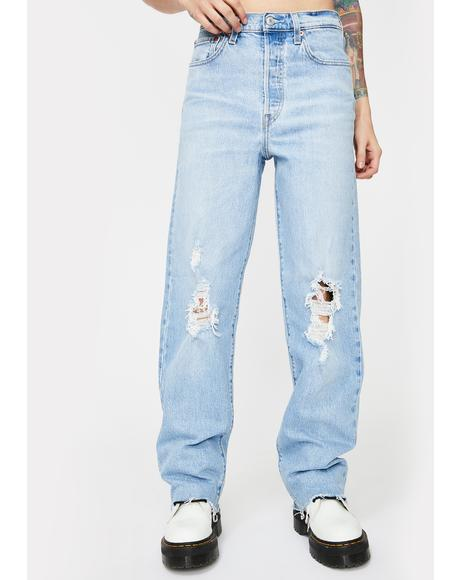 Tango Swing Ribcage Straight Leg Denim Jeans