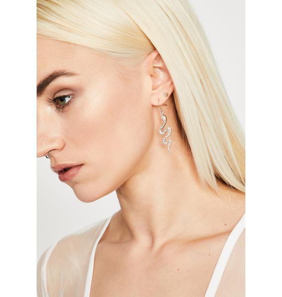 Blinding Bite Snake Earrings