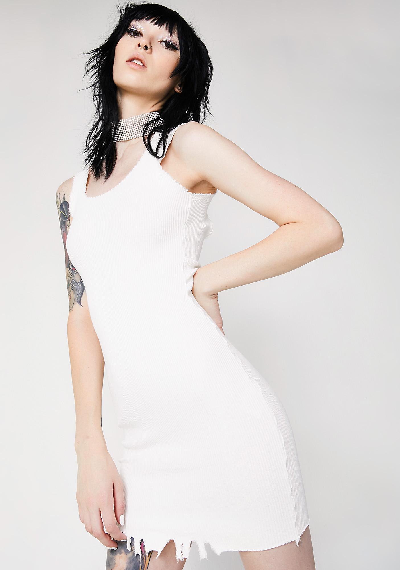 Kiki Riki Toughen Up Distressed Mini Dress