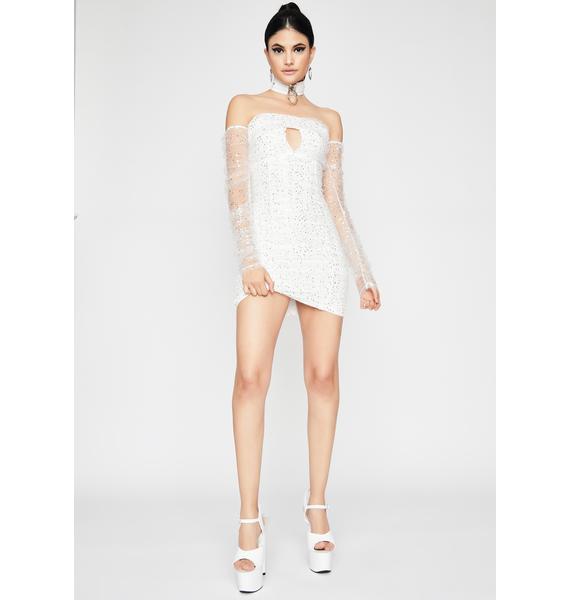 Angel Open Invite Off The Shoulder Dress
