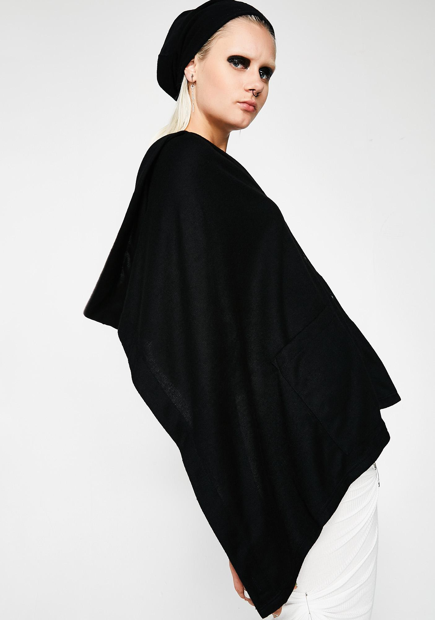 MNML Diana Hooded Shawl