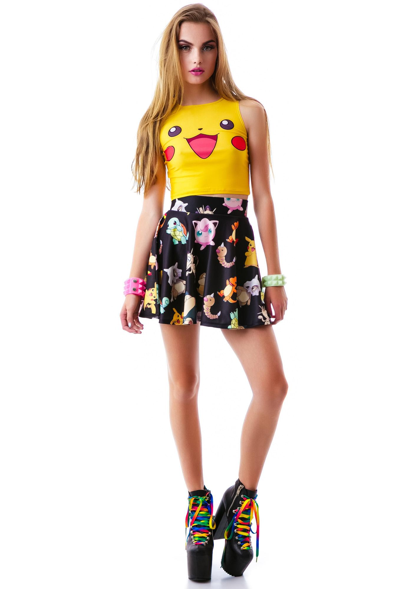 O Mighty Pika Pika Crop Tank