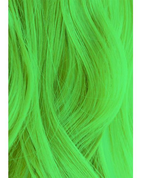 UV Reactive 350 Neon Green Hair Dye