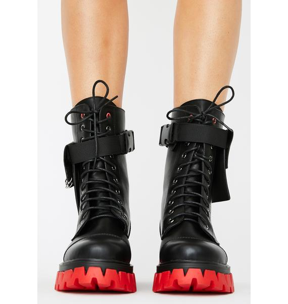 Koi Footwear Banshee Combat Boots