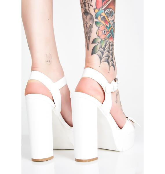 Lets Dance Platform Heels