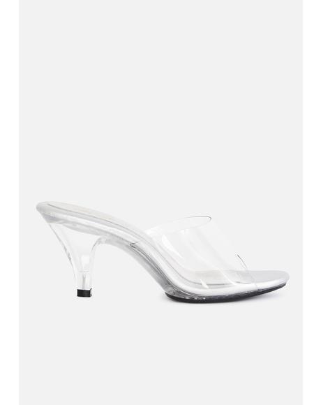 Belle Clear Heels