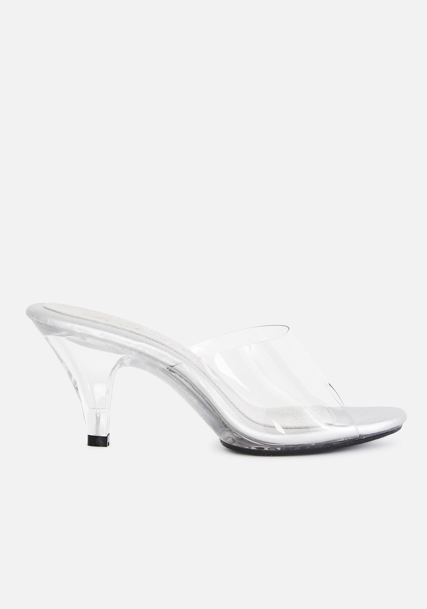 Fabulicious Belle Clear Heels