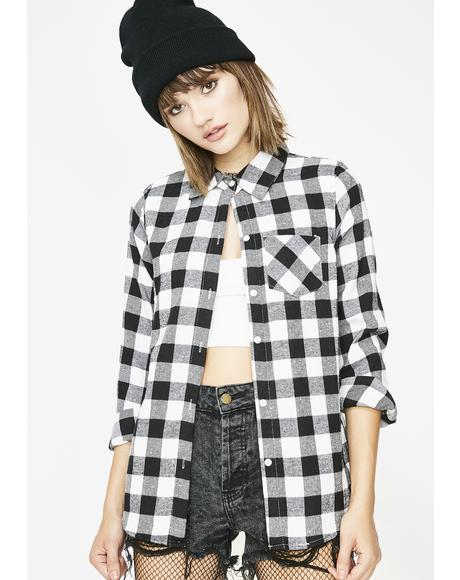 Original Gangsta Flannel Top