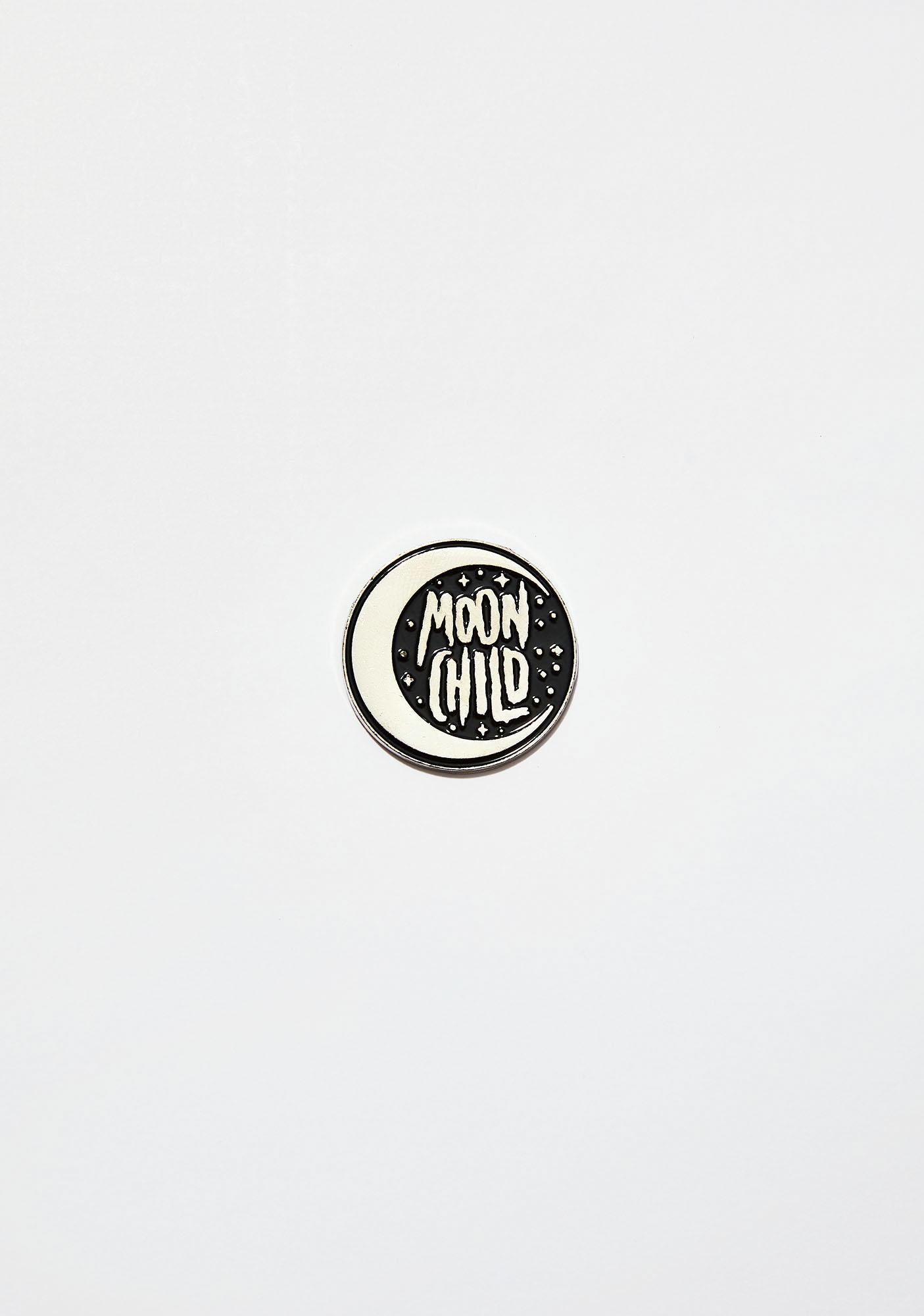 Killstar Moon Child Enamel Pin
