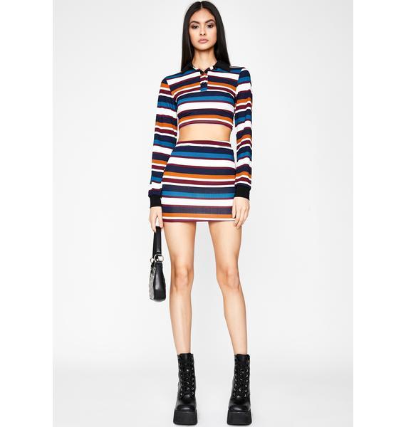 Chill Proper Flex Skirt Set
