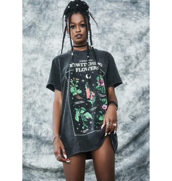 dELiA*s by Dolls Kill Essential Herbs Oversized Graphic Tee