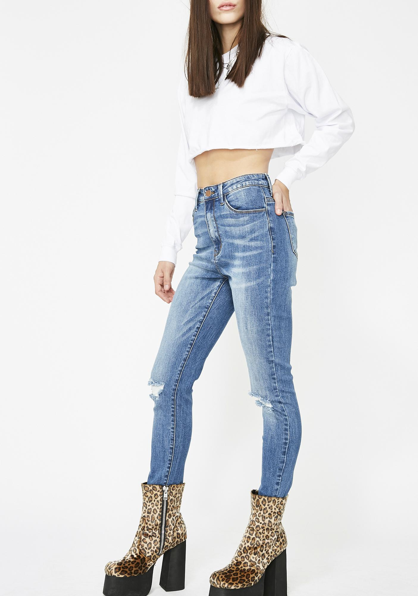 Damsel In Distressed Jeans