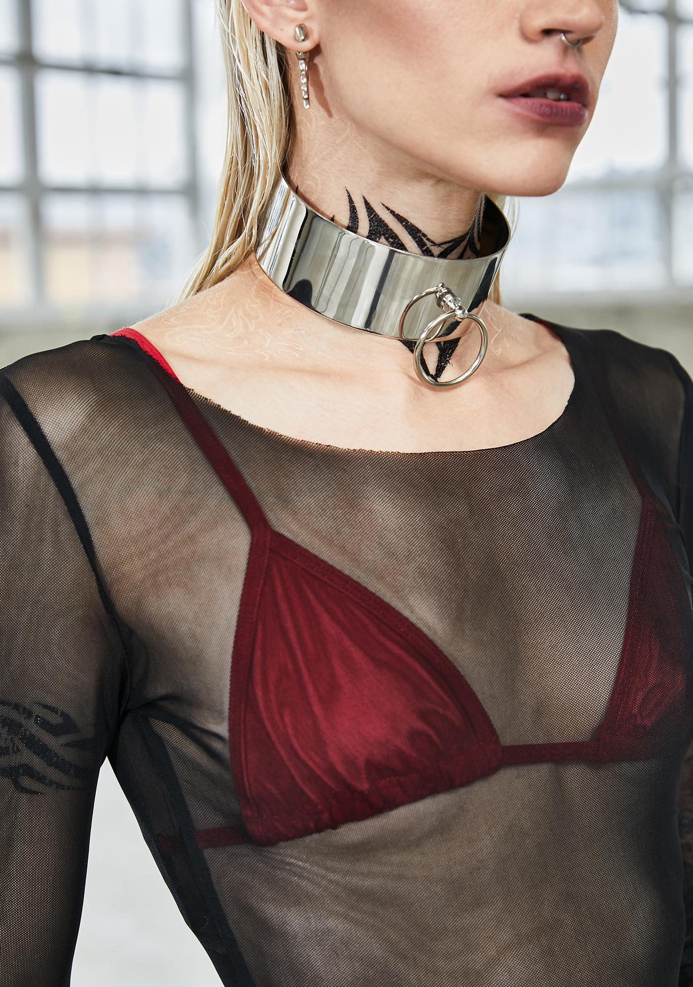 Bassline Metallic O-Ring Choker