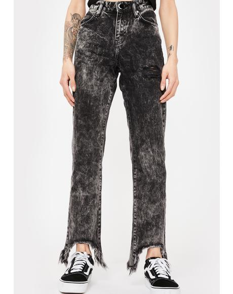 Washed Out Voodoo Child Jeans