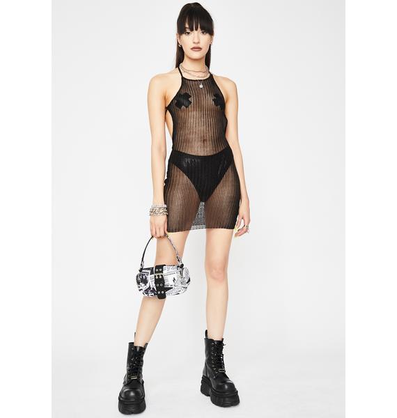 Freakish Ways Sheer Dress