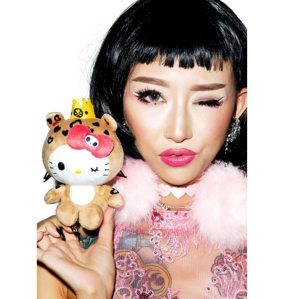 Sanrio Tokidoki X Hello Kitty Summer Safari Leopard Kitty Plush