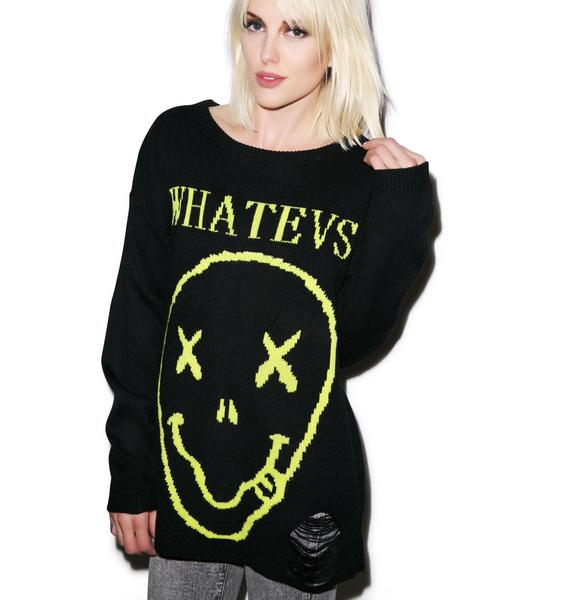 Iron Fist Whatever Sweater