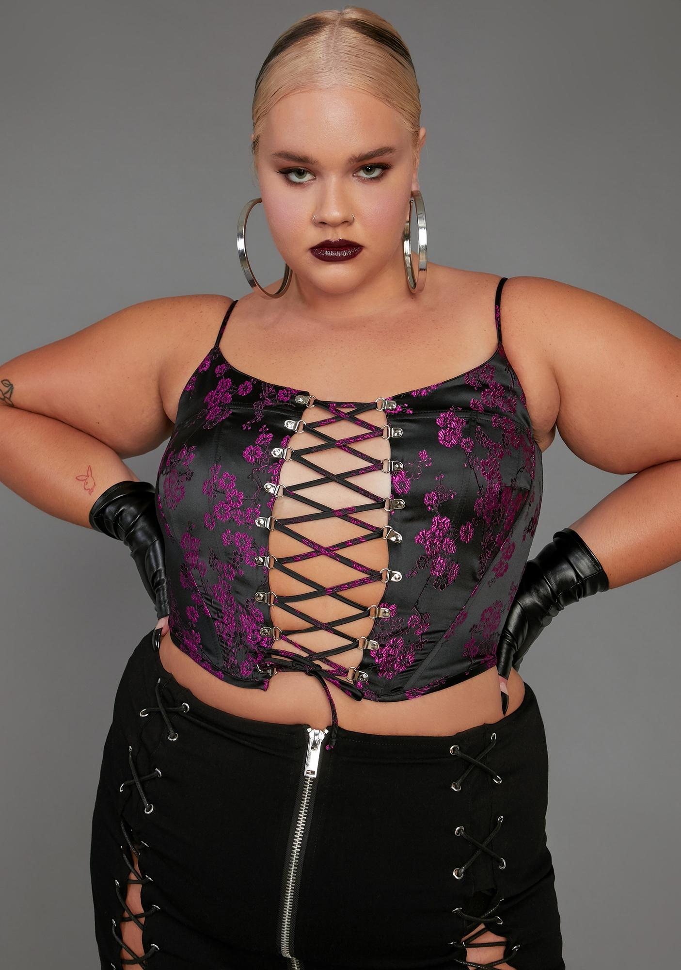 Poster Grl Real Undercover Influencer Corset Top