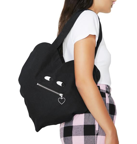 Lazy Oaf Zipper Heart Bag