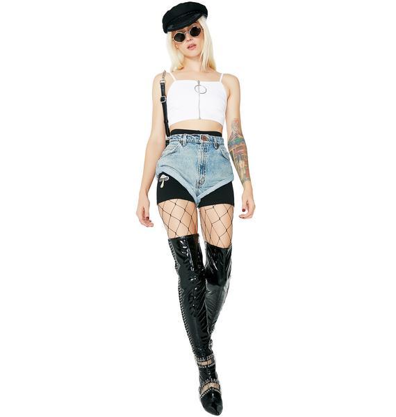 As I Am Mushroom Gypsy Shorts