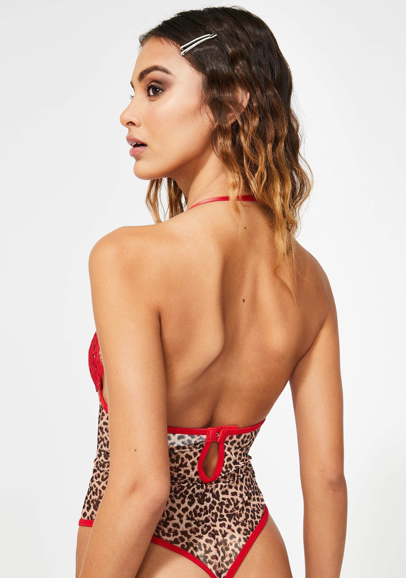 Prissy Purr Leopard Teddy