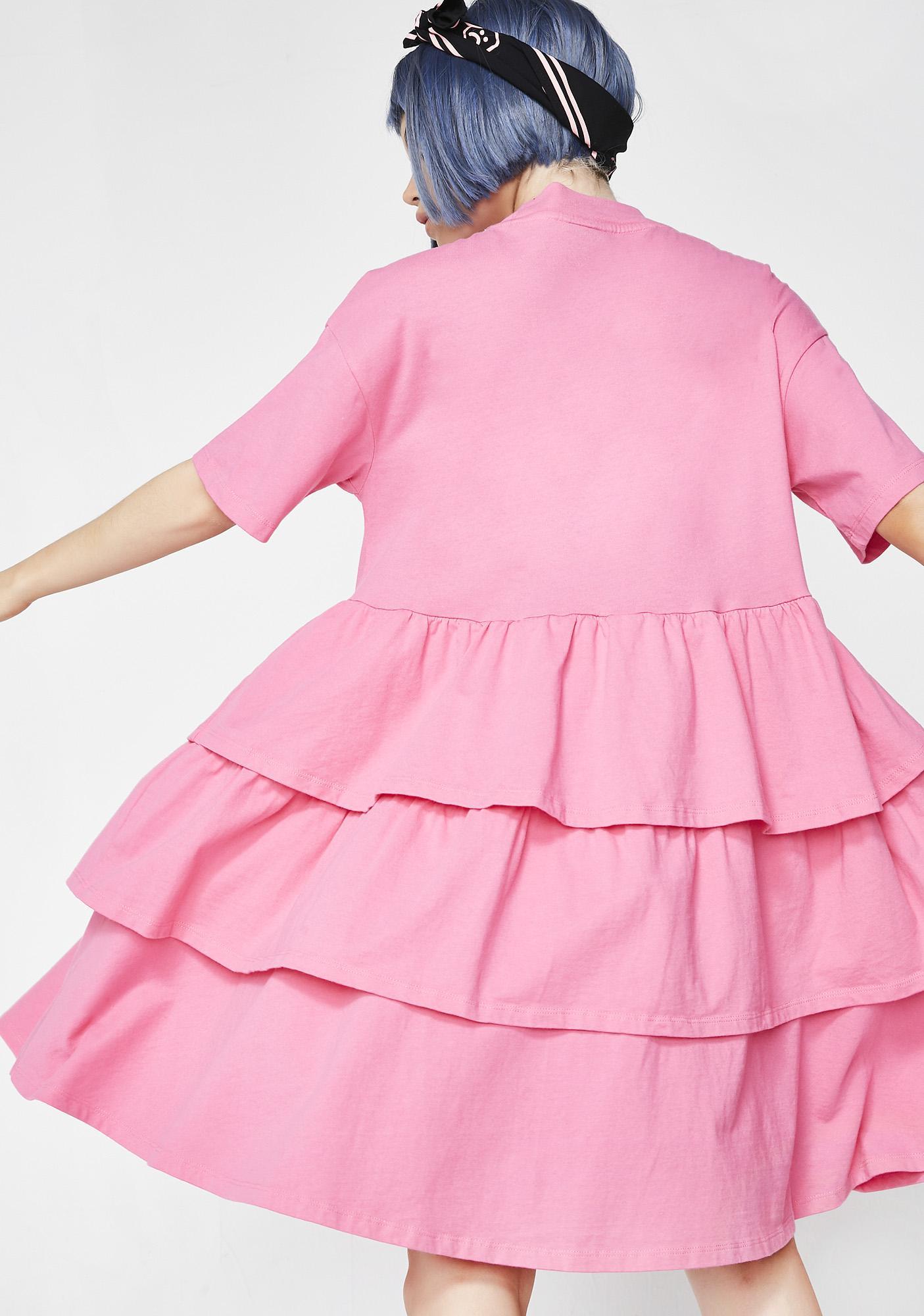 Lazy Oaf Layered Frill Dress