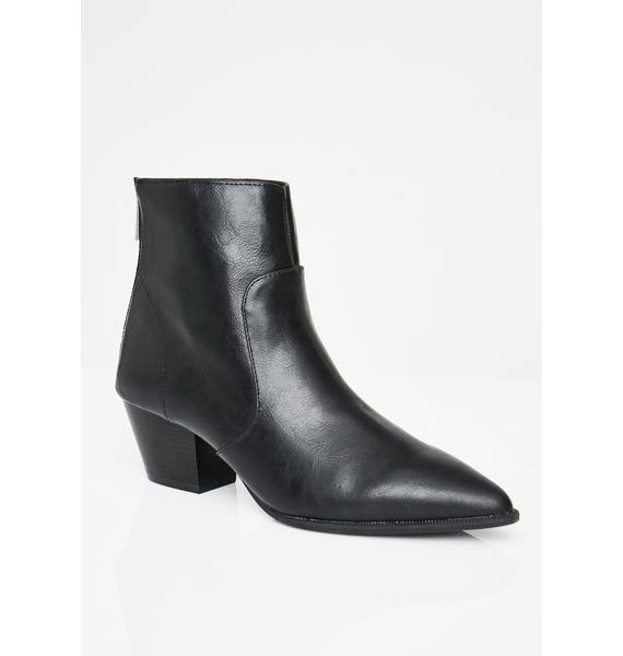 Coven House Ankle Booties