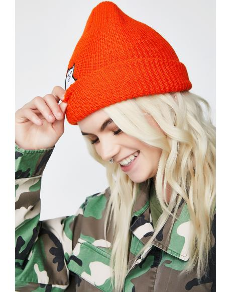Flame Lord Nermal Ribbed Beanie