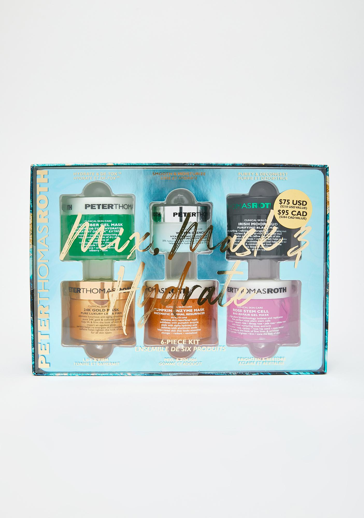 Peter Thomas Roth Mix Mask & Hydrate 6-Piece Kit