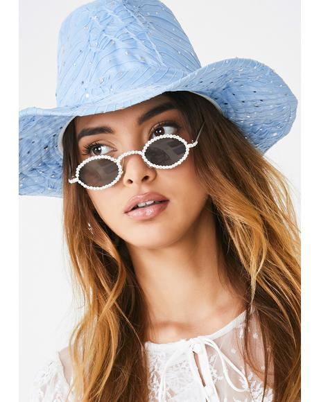 Wavy Moonshine Magic Cowgirl Hat