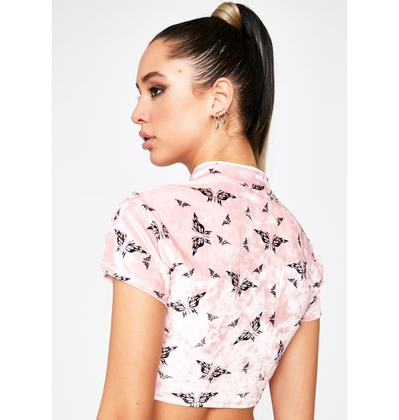 Bae Perfect Storm Butterfly Top