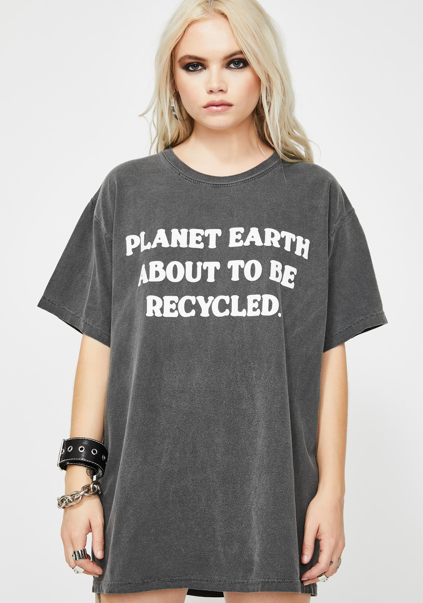 Slushcult Planet Earth Graphic Tee