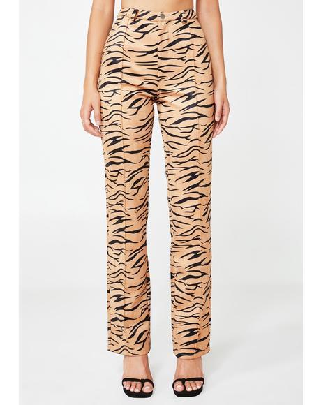 Indra Zebra Trousers